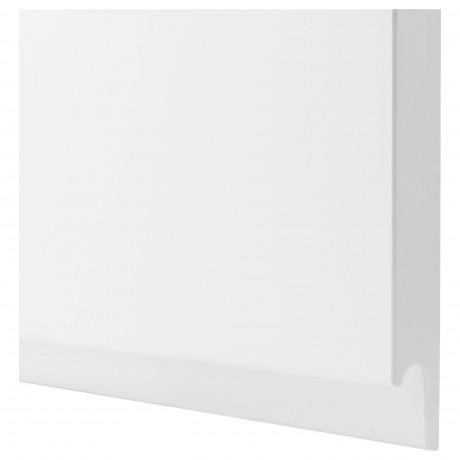 Фронт панель для посудом машины ВОКСТОРП матовый белый белый фото 1