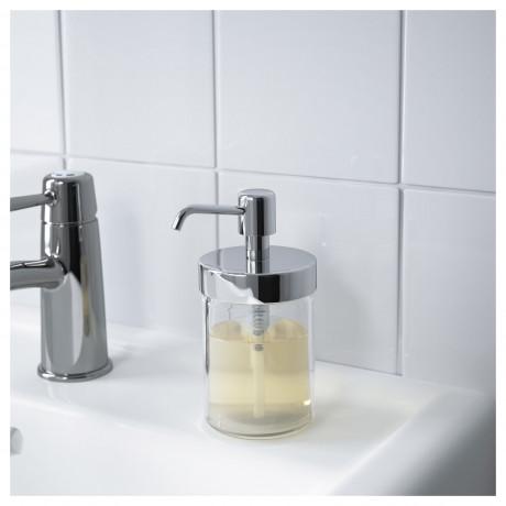 Дозатор для жидкого мыла ВОКСНАН под хром фото 1