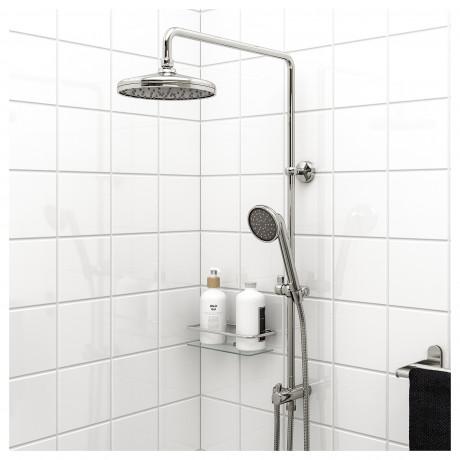 Лейка/ручной душ с дивертером ВОКСНАН хромированный фото 1