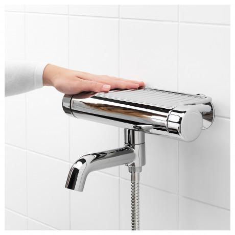 Термостатическ смеситель/душ/ванная ВОКСНАН хромированный фото 2
