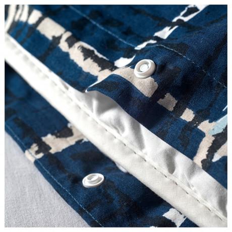 Пододеяльник и 1 наволочка ЭЛЬВЭКСИНГ темно-синий фото 2