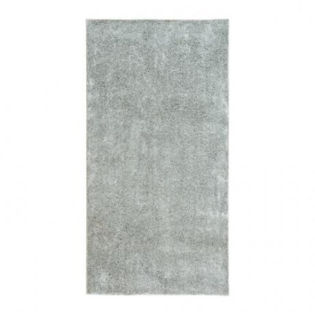 Ковер, длинный ворс ВОНГЕ светло-серый фото 0
