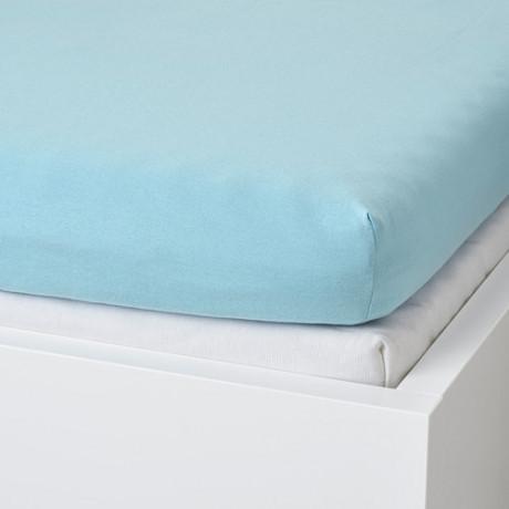 Натяжная простыня для кушетки ВОРВИАЛ голубой фото 1