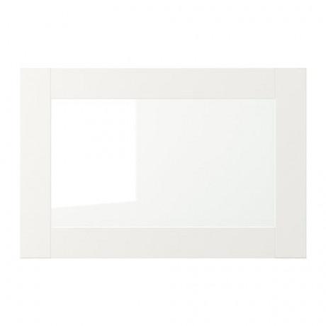 Стеклянная дверь ВЭРД белый фото 4
