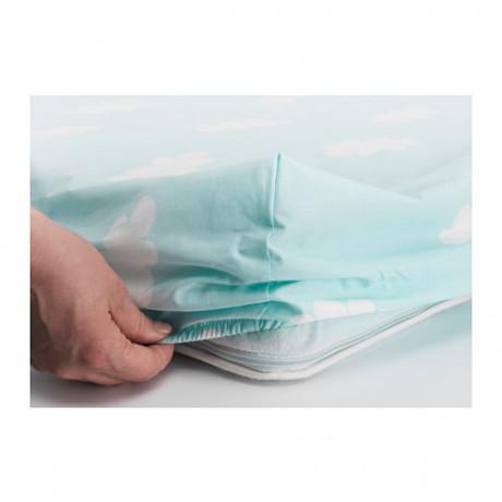 Комплект постельного белья, 3 предм ХИММЕЛЬСК бирюзовый фото 2