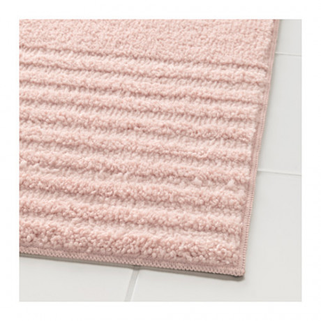 Коврик для ванной ВОКСШЁН бледно-розовый фото 1