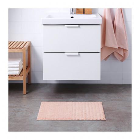 Коврик для ванной ВОКСШЁН бледно-розовый фото 2